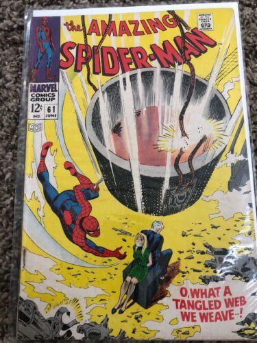 The Amazing Spider-Man #61 (Jun 1968, Marvel)