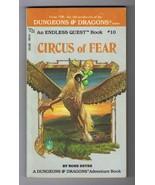 ORIGINAL Vintage 1983 Endless Quest #10 Circus of Fear Paperback Book - $14.84