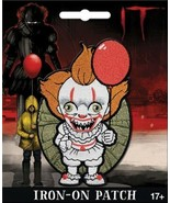 It! The Movie Pennywise Chibi Figure Image Embroidered Die-Cut Patch NEW... - $7.84