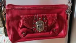 Kathy Van Zeeland pink organizer purse handbag, lots o compartments, new... - $33.55