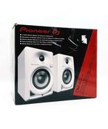 Pioneer DM-40-W 4-inch Active Desktop Monitors / Speakers - Pair (White)... - $179.62