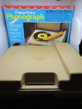 Fisher Price Phonograph Record Player Vintage 1978 original box - $72.26