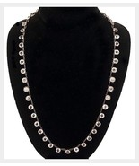 "Antique Sterling Paste Necklace 16"" - $198.00"