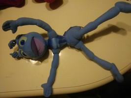 Vintage Walt Disney A Bug's Life BLUE FLIK THE ANT Plush Stuffed Animal - $14.85