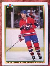 Hockey 1990 BOWMAN#45 Stephane Richer Canadiens *06 - $0.99