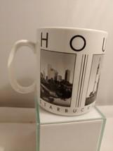 STARBUCKS Barista City Scenes Series Ceramic Cup Mug 18fl oz  Houston 2005 - $13.99