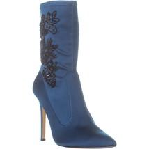 Nina Dorella High Heel Ankle Boots, Teal, 7 US - $80.63