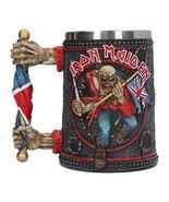 Nemesis Now Iron Maiden Tankard Mug 14cm Black - $74.43
