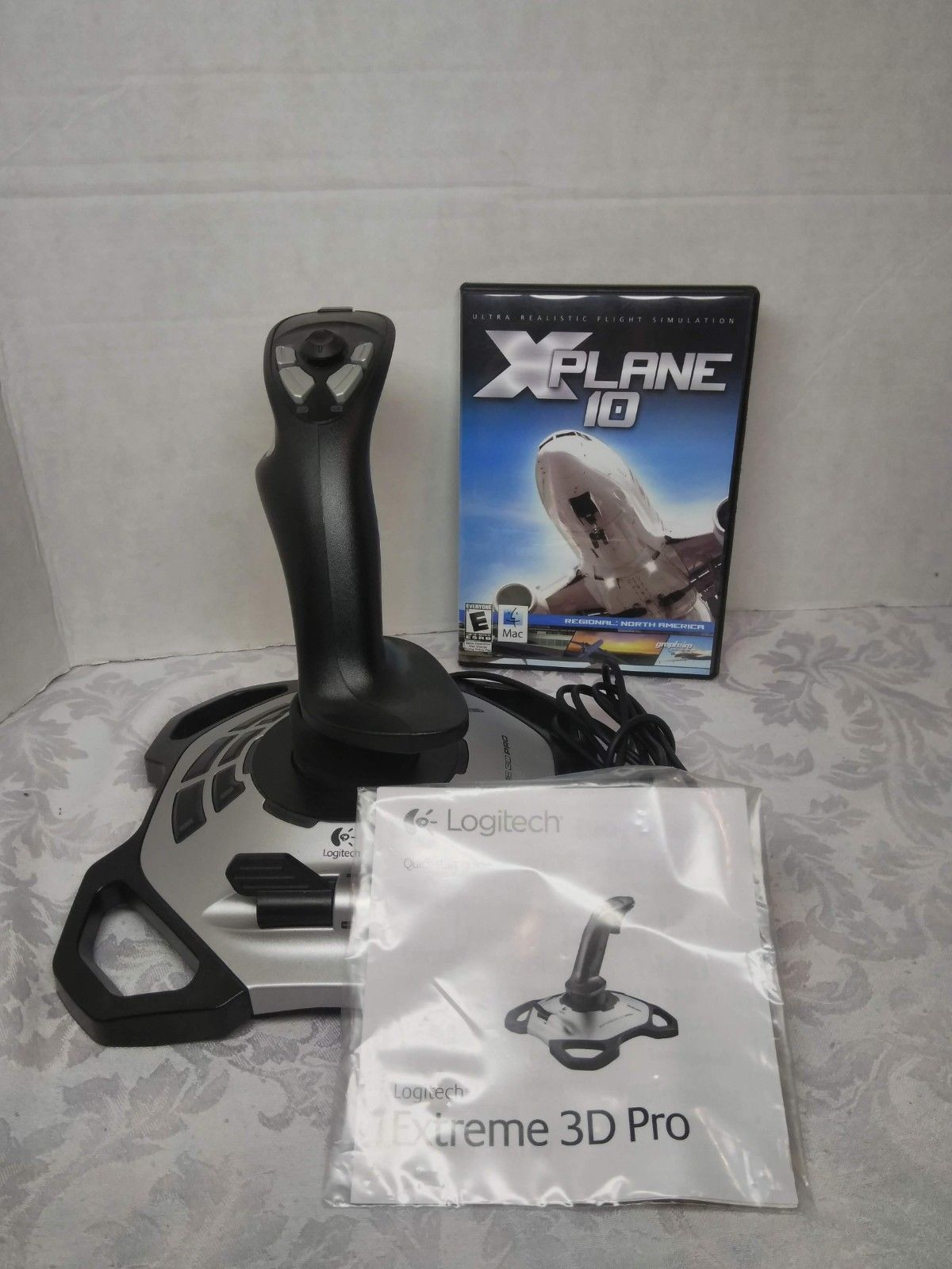 Logitech Extreme 3D Pro With X Plane 10 Game and 25 similar