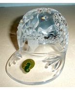 Waterford Crystal Baseball Cap World Series Champs 2011 St. Louis Cardin... - $268.90