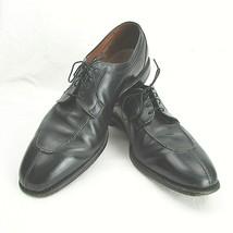 Allen Edmonds 'brewster' Leather Split Toe Oxfords Size 16 D Black - $120.00
