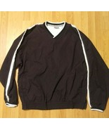 FILA Golf Pullover Shirt Men's Size Large Blue  Long Sleeve Athletic  - $24.74