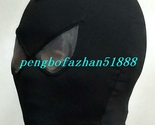 Black Mesh Spider Hood/Mask Unisex Lycra Spandex Spiderman Mask Hood Piece S914