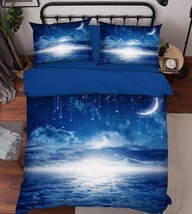 3D Stars Sky 201 Bed Pillowcases Quilt Duvet Cover Set Single Queen King Size AU - $64.32+