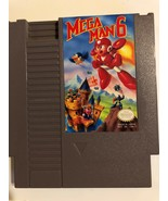 Nintendo NES Video Game Mega Man 6 Cleaned  & Tested Free Ship Authentic - $46.74