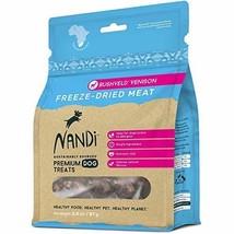 Nandi All-Natural South African Freeze-Dried Dog Treats (Bushveld Veniso... - $11.87