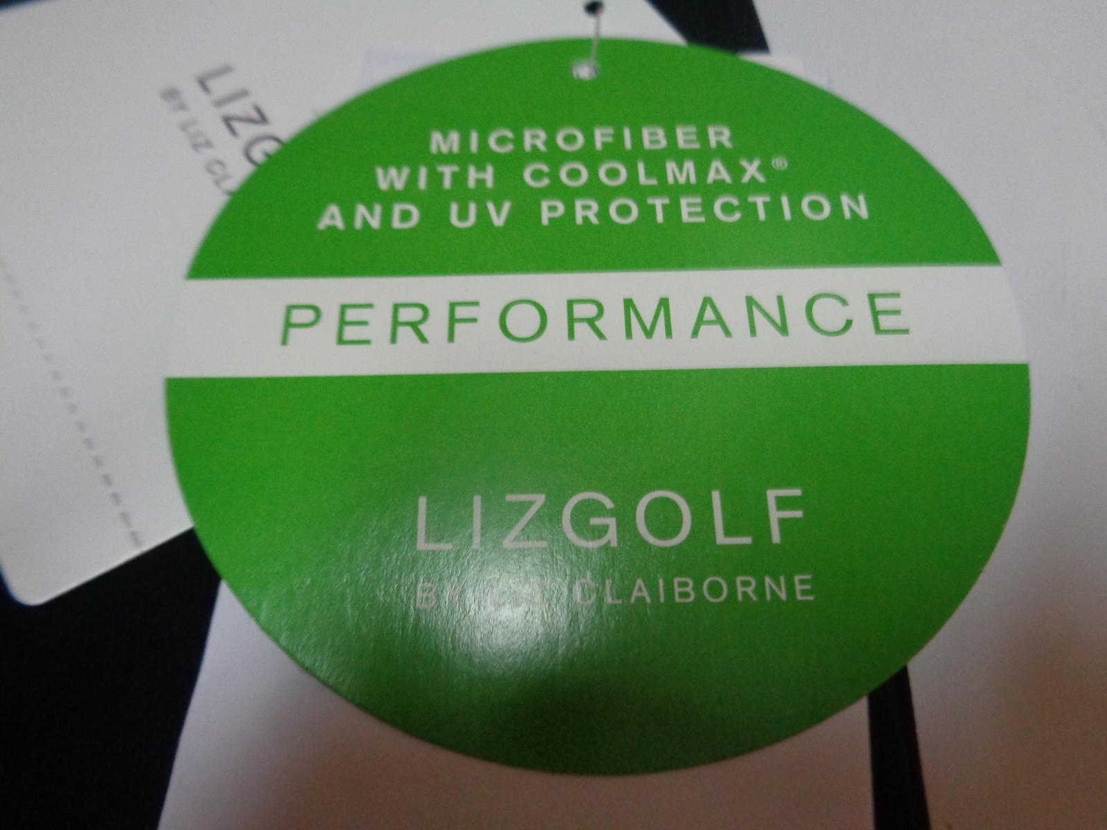 Lizgolf Essentials Shorts NWT Black SZ 8 Ball Marker Coolmax