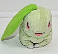 "Pokemon Chikorita Mini 3"" Plush Stuffed Animal Hasbro Nintendo Green - $21.78"