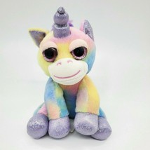 """8"""" Russ Li'l Peepers Rainbow Unicorn Plush Stuffed Pastel Valentine Toy B65 - $9.97"""