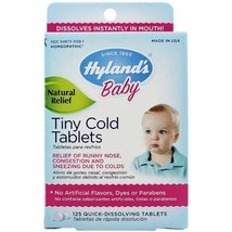 Baby Tiny Cold Tablets Hylands (Pack of 2) - $21.99
