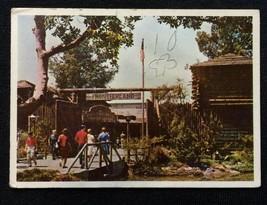 VISIT DISNEYLAND 1965 CARD #64 DAVY CROCKETT FORT DONRUSS RARE BLUE BACK - $12.99