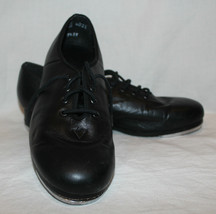 Leo's 4028 Women's Size 4M Black Leather  Lace Up Tap Shoes Pre-owned w/... - $9.99