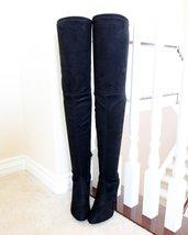 Amaya-12 black thigh high boots - $32.99