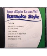 Songs of Squire Parsons Volume 1 Karaoke Style NEW CD+G Daywind 6 Songs - $15.86