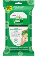 2 Pack Yes To Cucumbers Calming Mask Removing Wipes Soothing for Sensiti... - $9.99