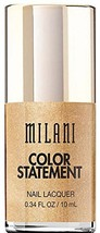 Milani Color Statement Nail Lacquer, Gold Plated, 0.34 Fluid Ounce - $5.65