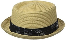 Ben Sherman Men's Braided Straw Pork Pie Hat - Choose SZ/Color - $31.21+
