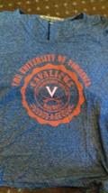 NWT NCAA Virginia Cavaliers Women's Large Navy Blue Tee Shirt - $16.82