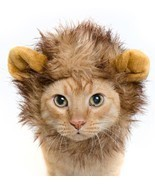 Lion Mane Cat Costume or Small Dog Costume - Pet Costumes by Pet Krewe - $16.95