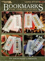 Bookmarks For The Seasons Cross Stitch 2712 By Deborah Lambein - $5.95