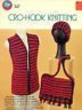 Cro Hook Knitting with Double ended Crochet Hook PATTERN/INSTRUCTIONS - $5.95 CAD