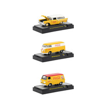 Coca-Cola Yellow Set of 3 Cars Limited Edition to 4,800 pieces Worldwide... - $50.65