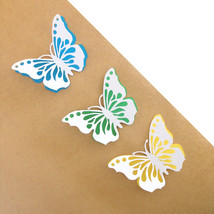 Paper Butterflies, Papercut Butterflies, Party Decorations, Gift Toppers - $12.99