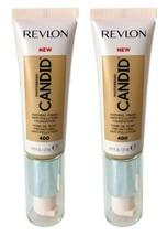 Lot of 2, Revlon PhotoReady Candid Anti-Pollution Foundation 400 Macadamia - $8.98
