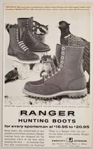 1960 Print Ad Ranger Hunting Boots Endicott Johnson Endicott,New York - $10.87