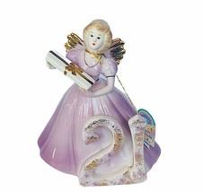 Josef Originals angel figurine birthday 21 gift present NWT tag porcelai... - $67.68