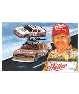 Bobby Allison signed 1988 Daytona 3 Race Winner Sam Bass NASCAR Legend 5... - $24.95
