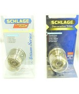 Schlage dummy door new in blister pack with mounting screws No Turn Pull... - $6.99