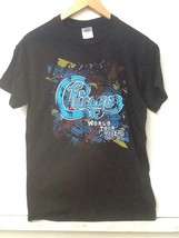 Chicago Made In USA World Tour 2012 T Shirt Tee Black S Small - $14.95