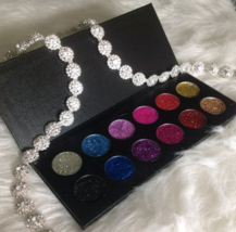 12 36 mm Amazingly Beautiful Hand Pressed Color Assortment of Glitter Eyeshadow - $56.00