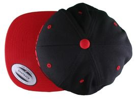 Dissizit Straight Crack Yupoong Wool Blend O/S Cap Black Red Embroidered Hat NWT image 14