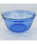 Anchor Hocking Cobalt Blue 2.5qt Mixing Bowl w/ Wide Rim~ Made in the USA