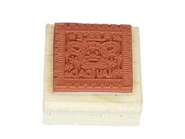 Fleece Navidad Rubber Stamp image 2