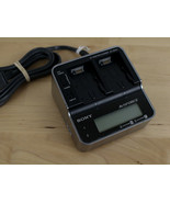 Genuine SONY Dual Battery AC Adaptor Charger for ActiForce H Series Batt... - $39.59