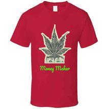 Money Maker 420 Canna T Shirt image 9