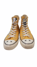 Converse Kaws Men Sneakers Size 8.5 Chuck Hi Top All Star Yellow Women's 10.5 image 2